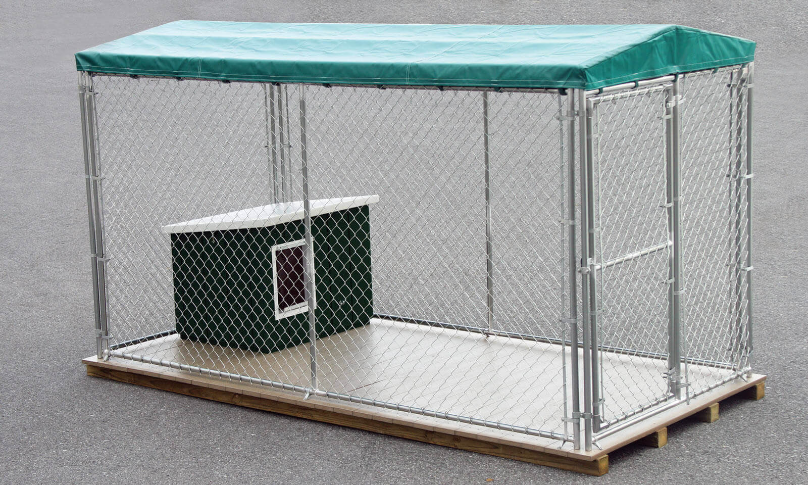 Chain Link Outdoor Dog Kennel