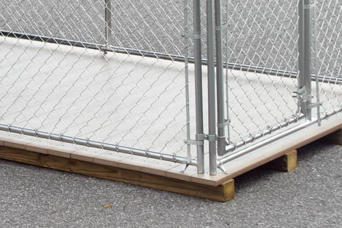poly flooring for dog kennel
